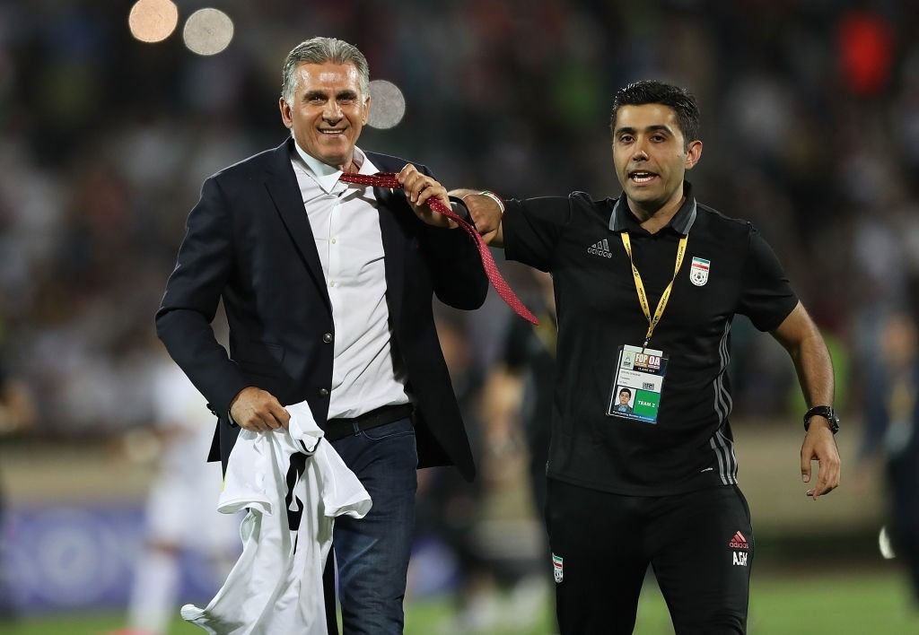 Carlos Queiroz will be leading Iran as they bid to get to the second round of the World Cup. (Photo courtesy: AFP/Getty)