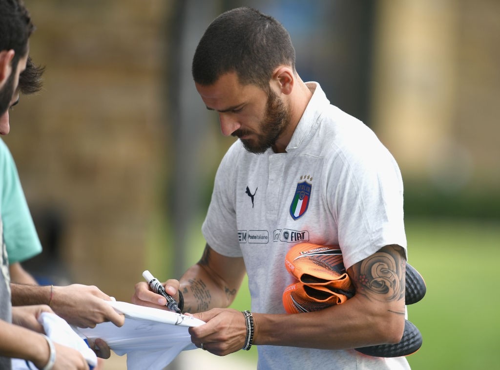 Leonardo Bonucci is ruled out with an injury (Photo by Claudio Villa/Getty Images)