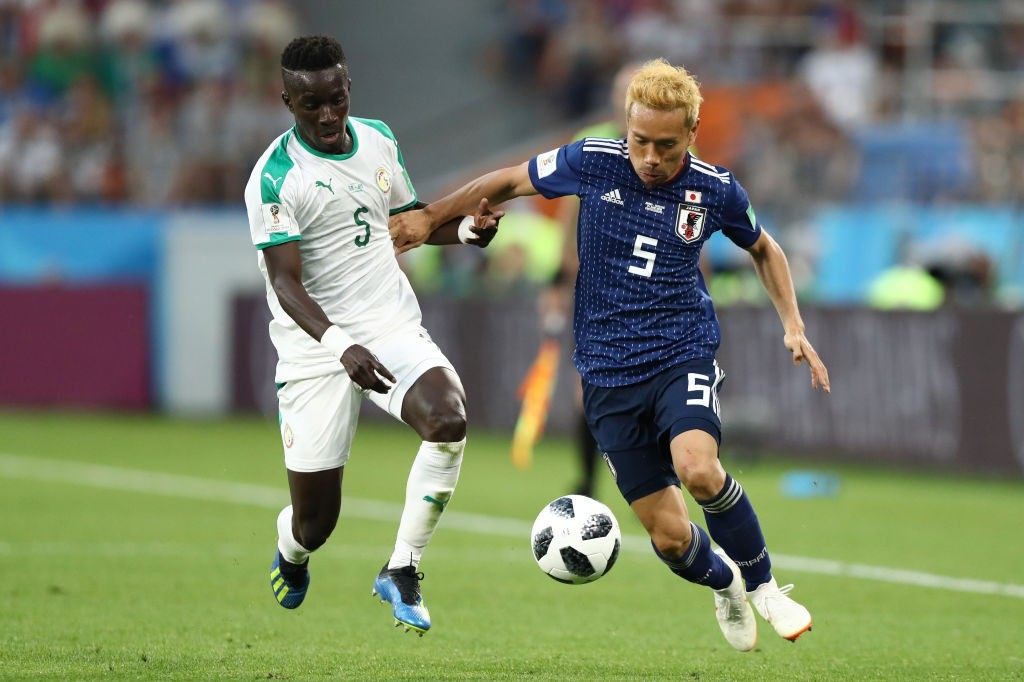 Yuto Nagatomo had a good game for Japan and also set up his team's first equaliser. (Photo courtesy: AFP/Getty)