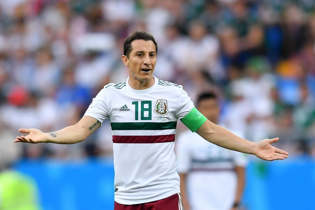 Mexico, Sweden both unchanged for World Cup Group F match