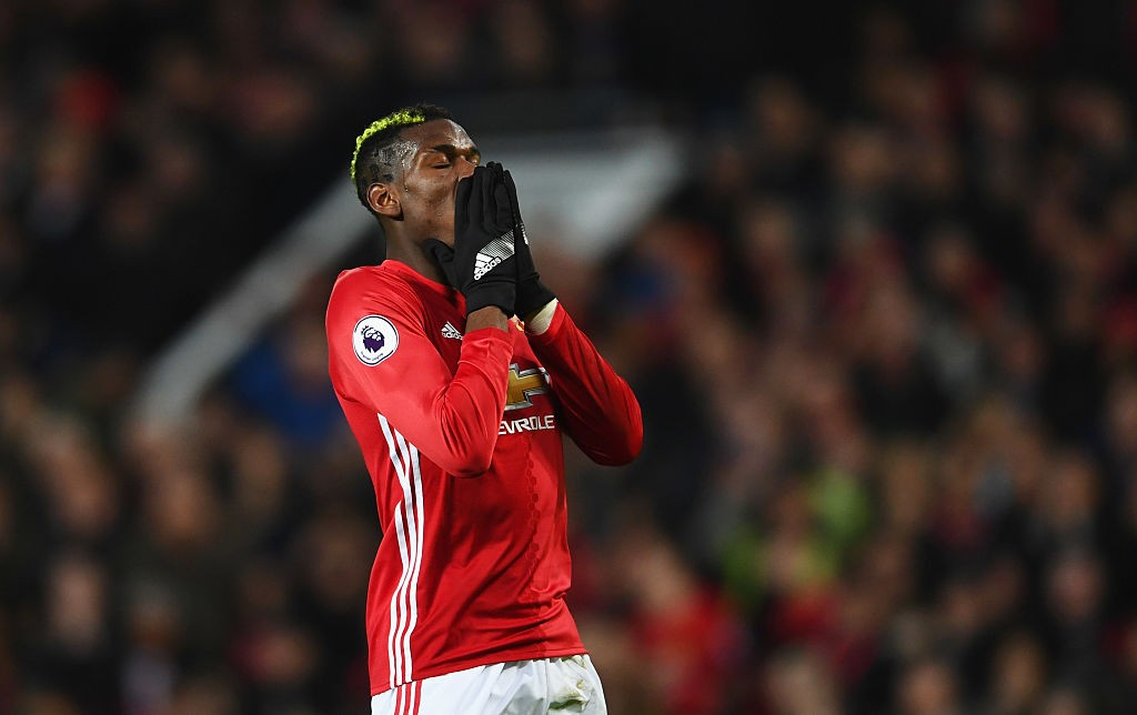 Paul Pogba's future at Manchester United is a doubt and is also linked with a return to Juventus. (Photo courtesy: AFP/Getty)