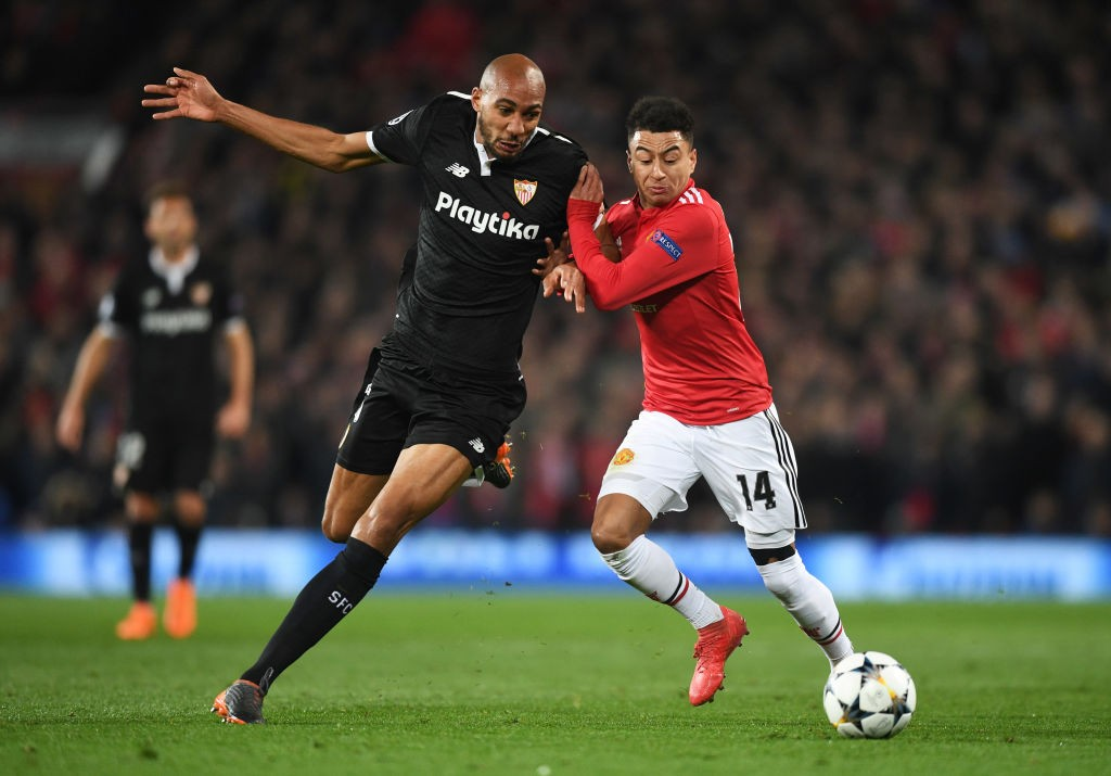 Despite a difficult season in Spain, Nzonzi was one of Sevilla;s top performing players. (Photo courtesy: AFP/Getty