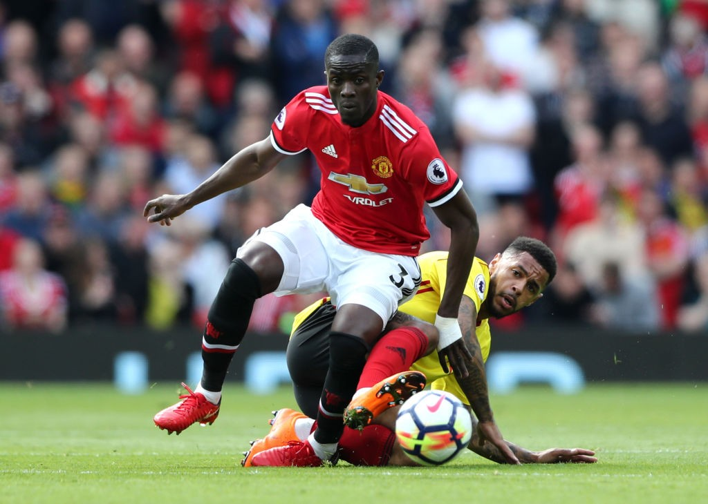 Eric Bailly has not lived up to the standards expected of him since joining Manchester United. (Photo courtesy: AFP/Getty)