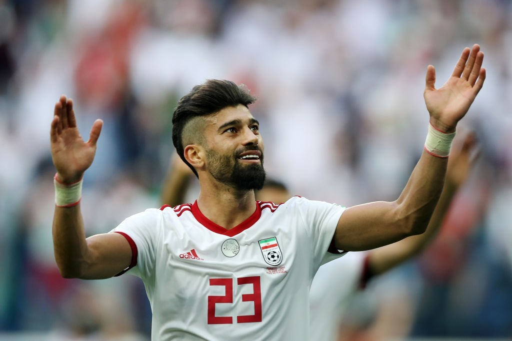 A comprehensive performance from Ramin Rezaeian earned Iran a win as well as a clean sheet. (Photo courtesy: AFP/Getty)
