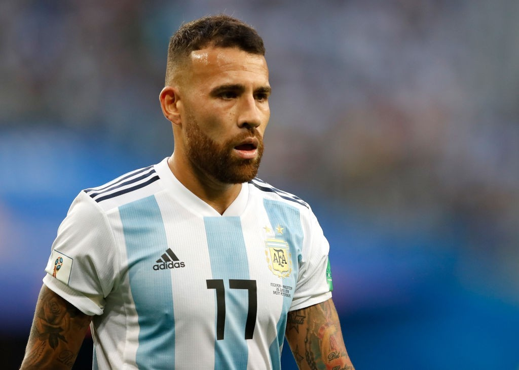 Otamendi will need to bring his A-Game on Saturday. (Photo courtesy - Julian Finney/Getty Images)