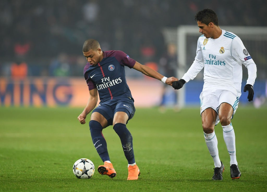 Will Mbappe reunited with Raphael Varane at Real Madrid? Or will it be Manchester United for him? (Photo courtesy - Matthias Hangst/Getty Images)