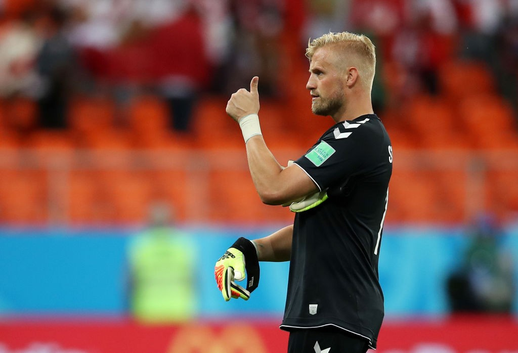Kasper Schmeichel hoping to emulate father Peter and lead Denmark to European glory (Photo by Clive Brunskill/Getty Images)