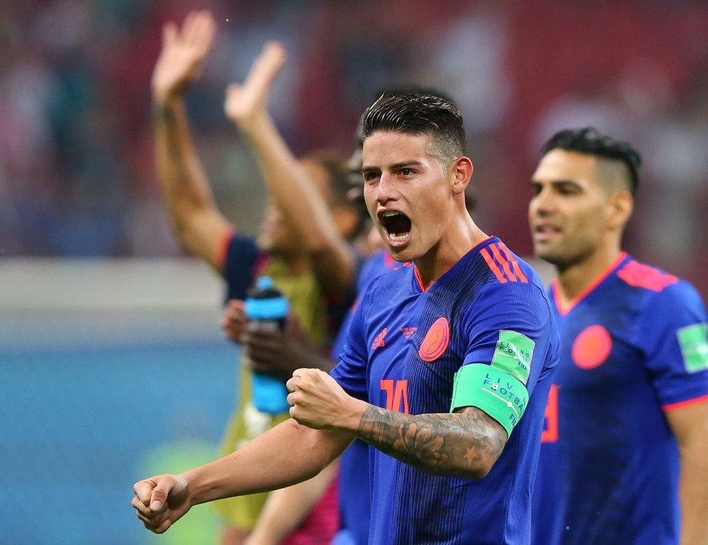 James Rodriguez prevails after returning to full fitness. (Photo courtesy - Alex Livesey/Getty Images)
