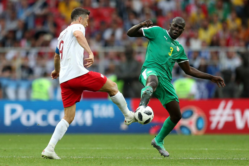 KAlidou Koulibaly was rock solid in defence for Senegal against Poland. (photo courtesy: AFP/Getty)