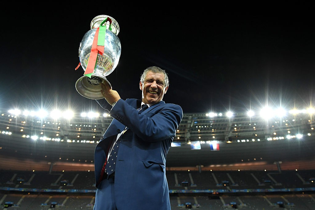 Fernando Santos conquered Europe with Portugal at France in 2016. (Photo courtesy: AFP/Getty)