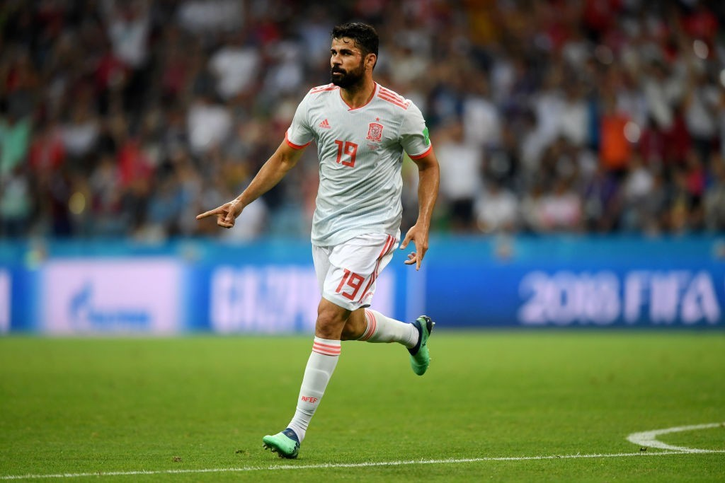 The notorious Costa brought Spain back into the game twice (Photo by Stu Forster/Getty Images)