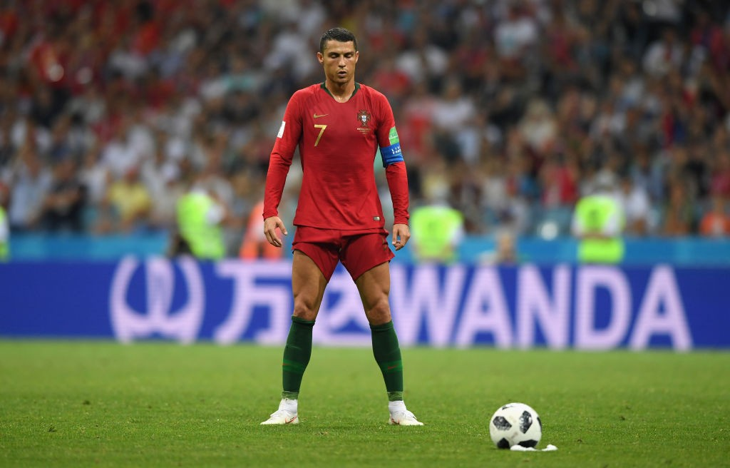 Will Ronaldo be at it again when Portugal play Morocco? (Photo courtesy: AFP/Getty)