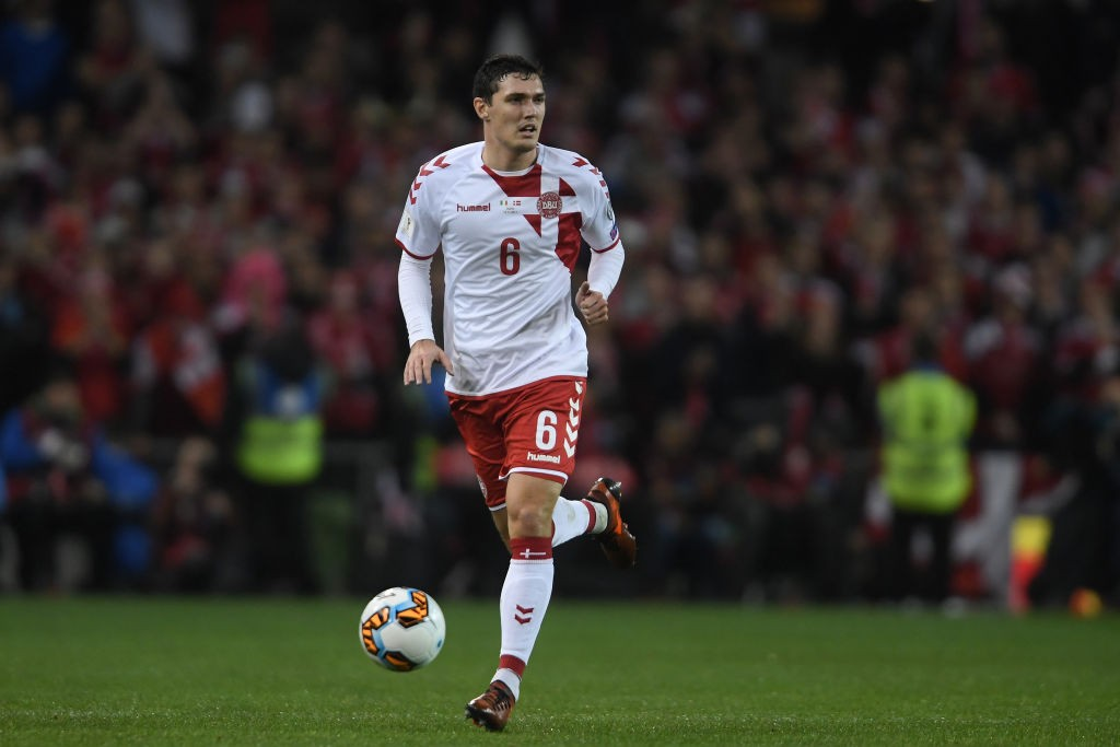 Andreas Christensen is expected to marhall the Danish defence in Russia and bring his excellent club for into the national side. (Photo courtesy: AFP/Getty)