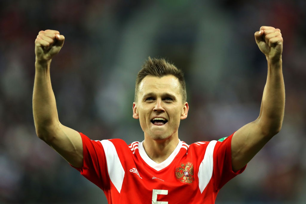 Denis Cheryshev looks to continue his impressive for for Russia against Sweden. (Photo courtesy: AFP/Getty)