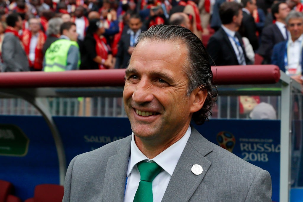 Will Pizzi end the World Cup campaign smiling? (Photo courtesy - Kevin C. Cox/Getty Images)