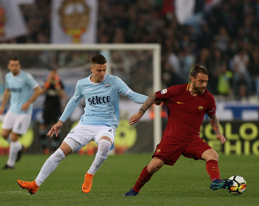 Sergej Milinkovic-Savic has been one of Lazio's star performers in the last season and would not come cheap in a potential transfer. (Photo courtesy: AFP/Getty)