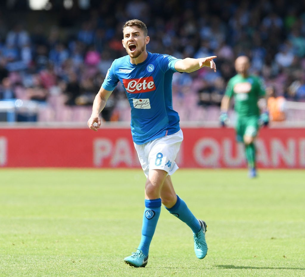 Napoli's £60 million valuation of Jorginho is forcing Manchester City to look elsewhere. (Photo courtesy - Francesco Pecoraro/Getty Images)