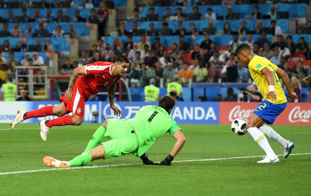 Mitrovic spurned two great chances (Photo by Stu Forster/Getty Images)