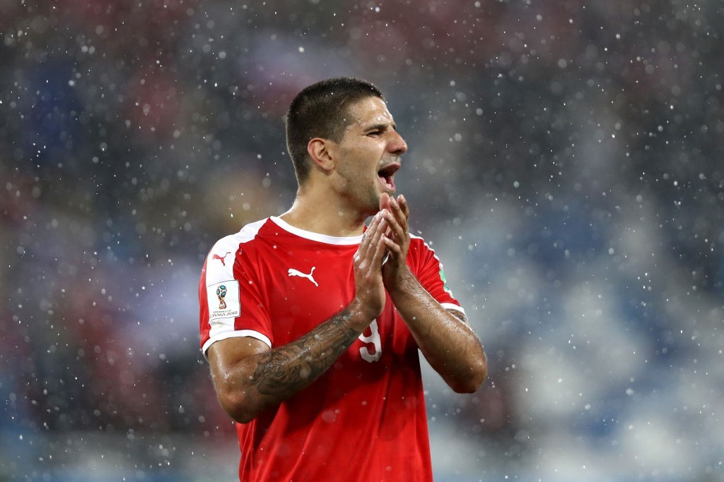 Mitrovic starred for Serbia (Photo by Ryan Pierse/Getty Images)