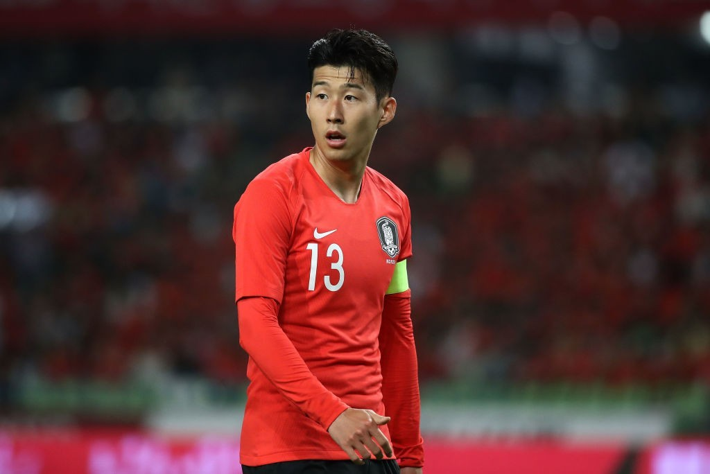 South Korea's hopes will be pinned on Son Heung-min (Photo: Chung Sung-Jun/Getty Images)