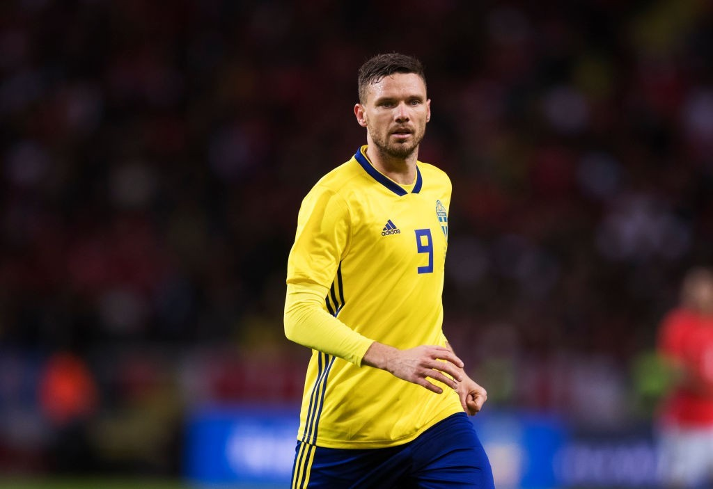 Marcus Berg will pose a threat in attack (Photo: Nils Petter Nilsson/Ombrello/Getty Images)