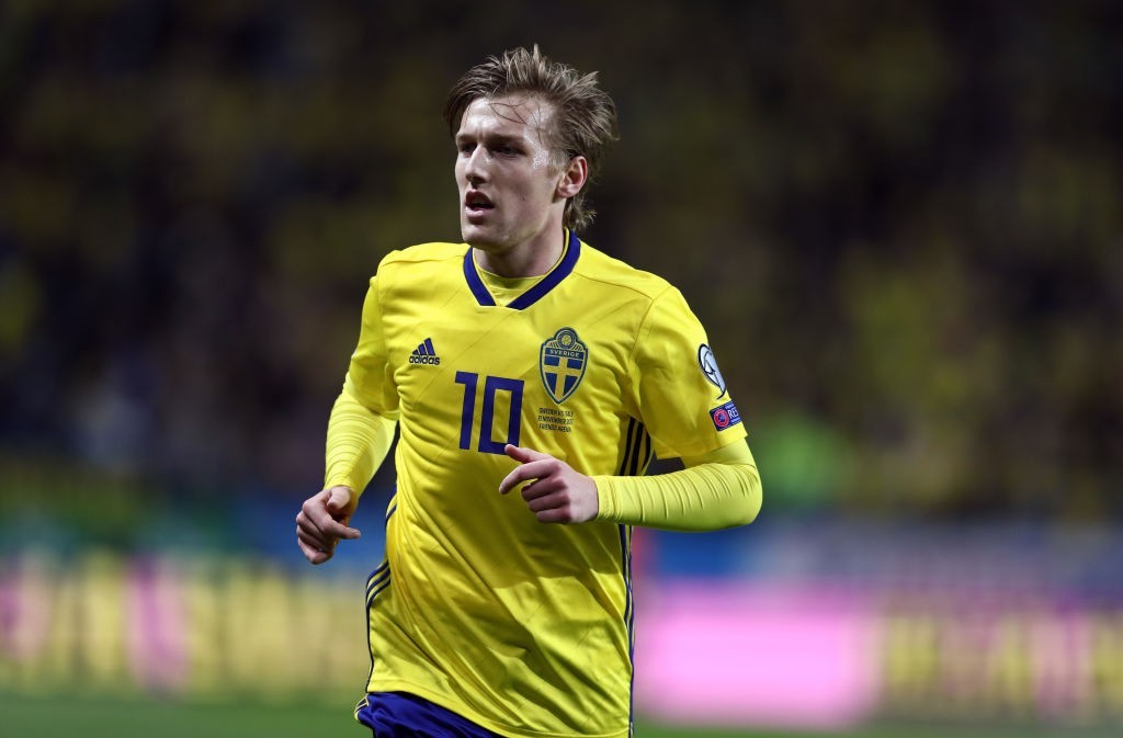 Holding the key to Sweden's progression. (Photo courtesy - Catherine Ivill/Getty Images)