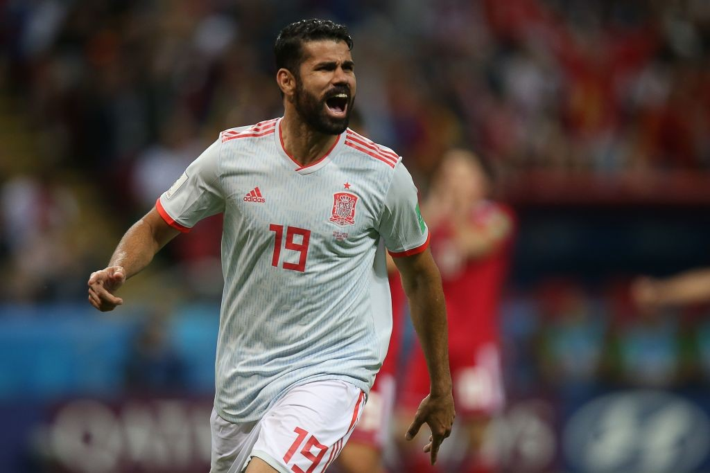 Diego Costa already has three goals from two games at this World Cup and will be looking to add to that against Morocco. (Photo courtesy: AFP/Getty)