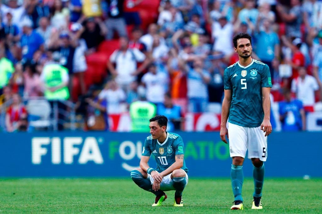 Travesty for Germany. (Photo courtesy - Benjamin Cremel/AFP/Getty Images)