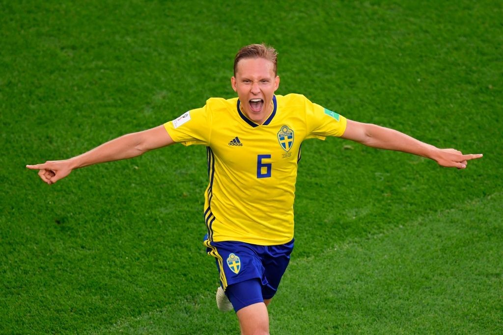 A Swedish hero was born. (Photo courtesy - Jorge Guerrero/AFP/Getty Images)
