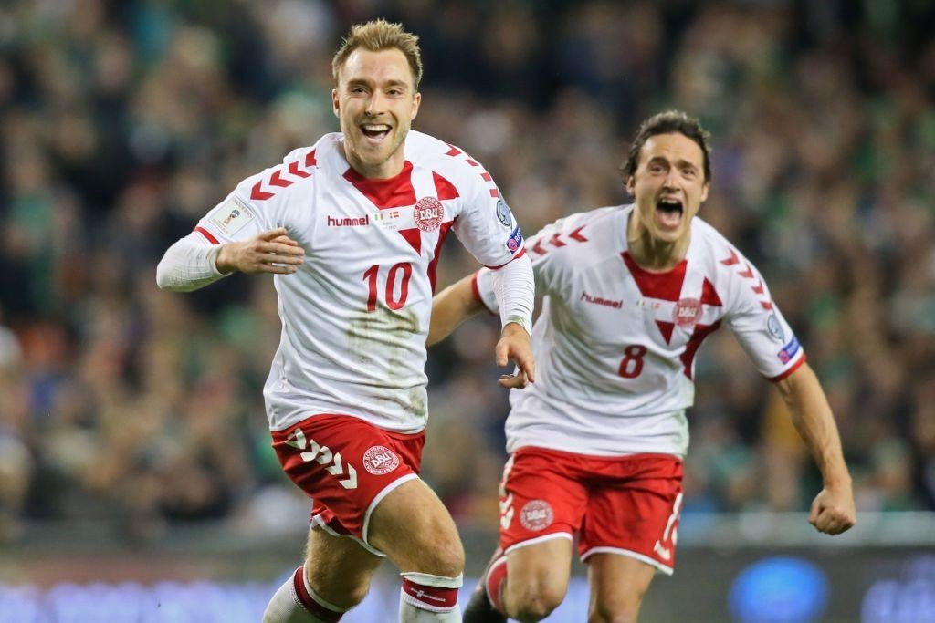 Denmark will be banking on Christian Eriksen for some top level performances at the World Cup in Russia. (Photo courtesy: AFP/Getty)