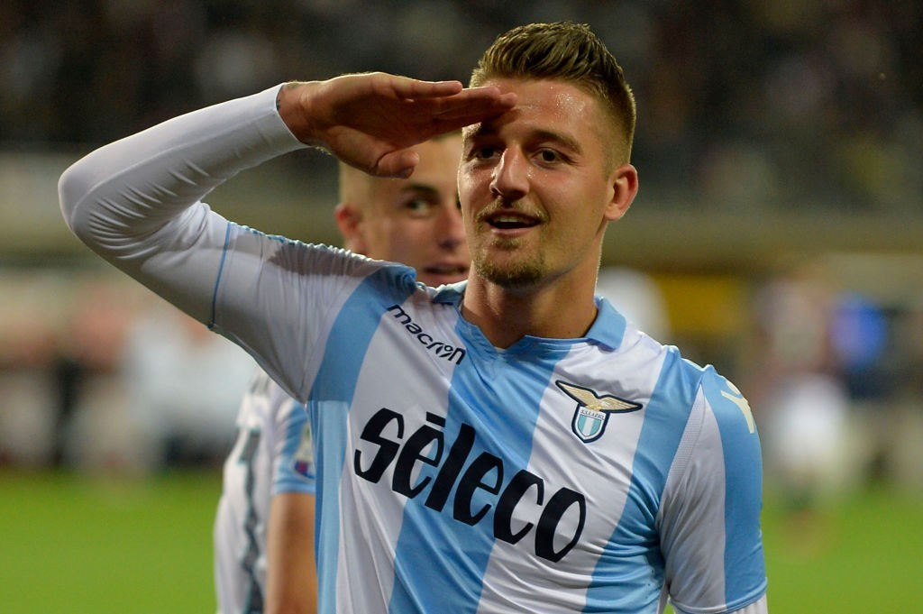 Real Madrid or Manchester United for Milinkovic-Savic? (Photo by Marco Rosi/Getty Images)