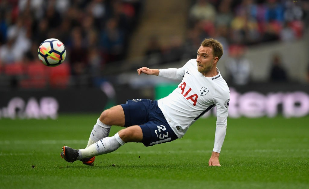Eriksen's consistency for Tottenham over the last few seasons have attracted attention of big European clubs like Real Madrid and Barcelona. (Photo courtesy: AFP/Getty)