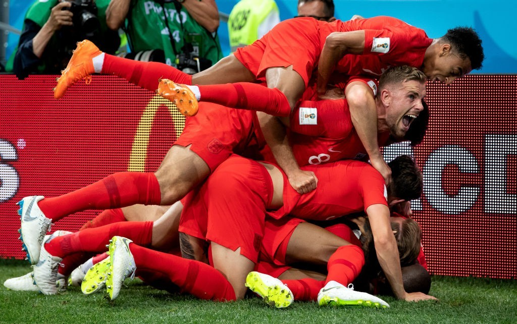 England showed a lot of fight and character in their win over Tunisia. (Photo courtesy - Matthias Hangst/Getty Images)