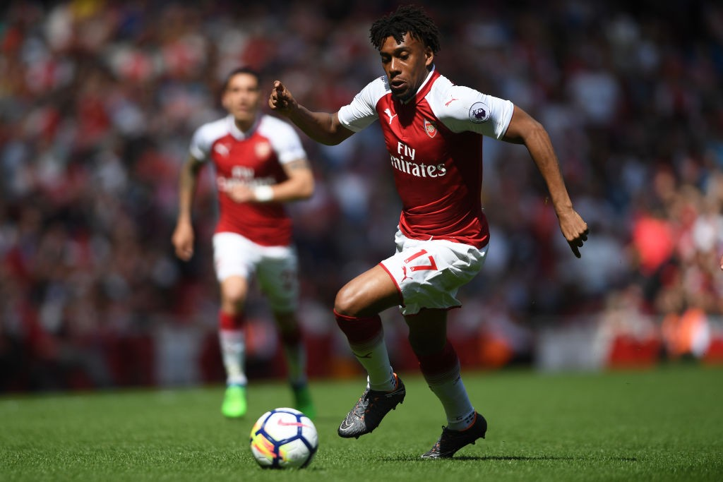 Alex Iwobi has made 98 appearances for Arsenal so far and could move to Lazio in this window. (Photo courtesy: AFP/Getty)