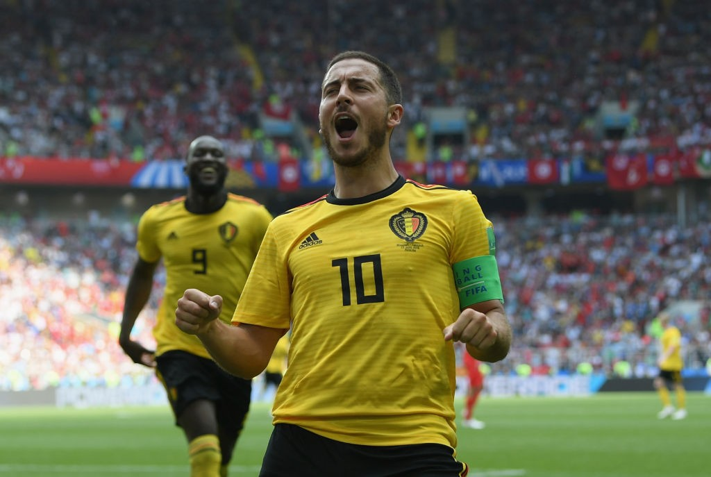 Eden Hazard has been in great form lately and will want to translate that on the pitch against Japan. (Photo courtesy: AFP/Getty)