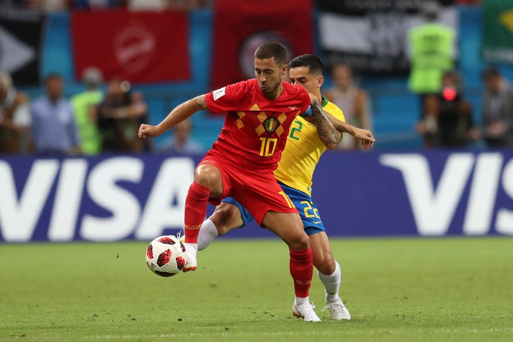 Eden Hazard is one player the French defence will have to keep an eye out for during their semi-final clash. (Photo courtesy: AFP/Getty)