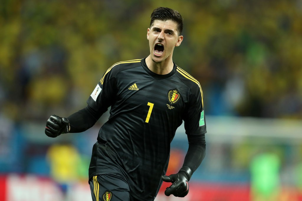 Thibaut Courtois won the Golden Glove at the World Cup and could make a move to Real Madrid this summer. (Photo courtesy: AFP/Getty)