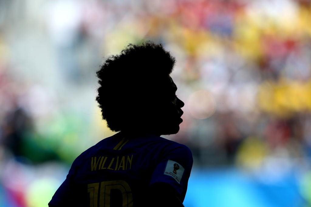 Willian's price is clear. But his future, not. (Photo courtesy - Alex Livesey/Getty Images)