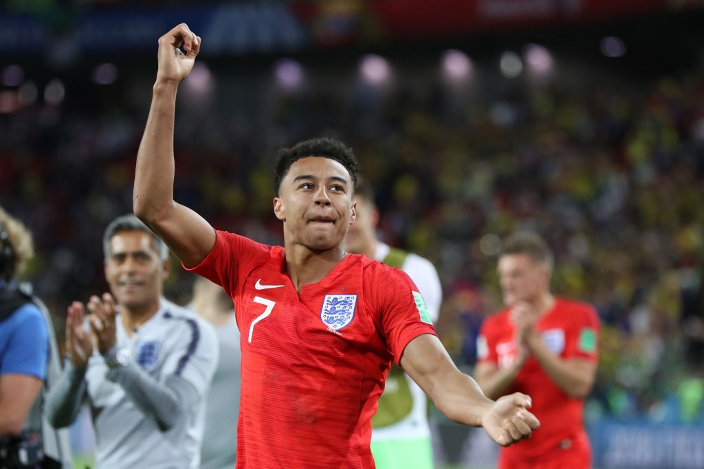 Lingard has been one of the strongest performers for England at the World Cup. (Photo courtesy - Ryan Pierse/Getty Images)
