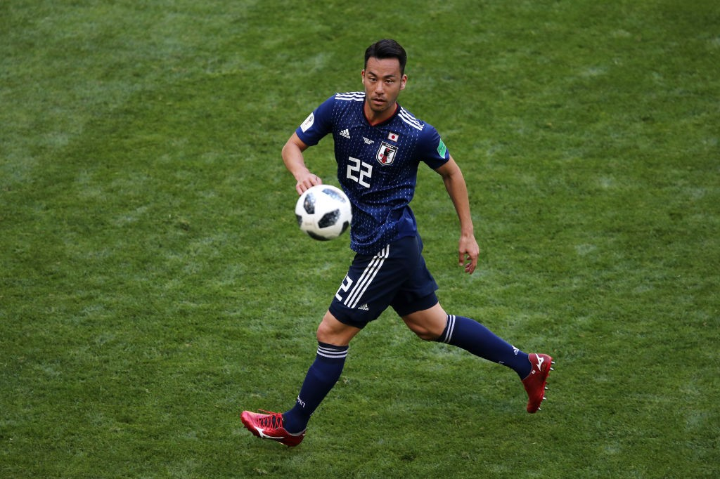 Maya Yoshida will have his hands full when he and his Japanese side face the threat posed by Belgian attackers, especially Romelu Lukaku. (Photo courtesy: AFP/Getty)