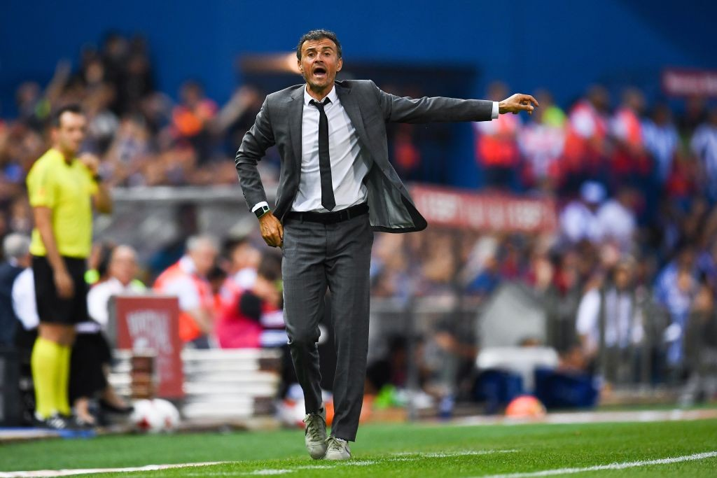 Luis Enrique has signed a two-year deal with the Spanish Football Federation to coach the National team. (Photo courtesy: AFP/Getty)