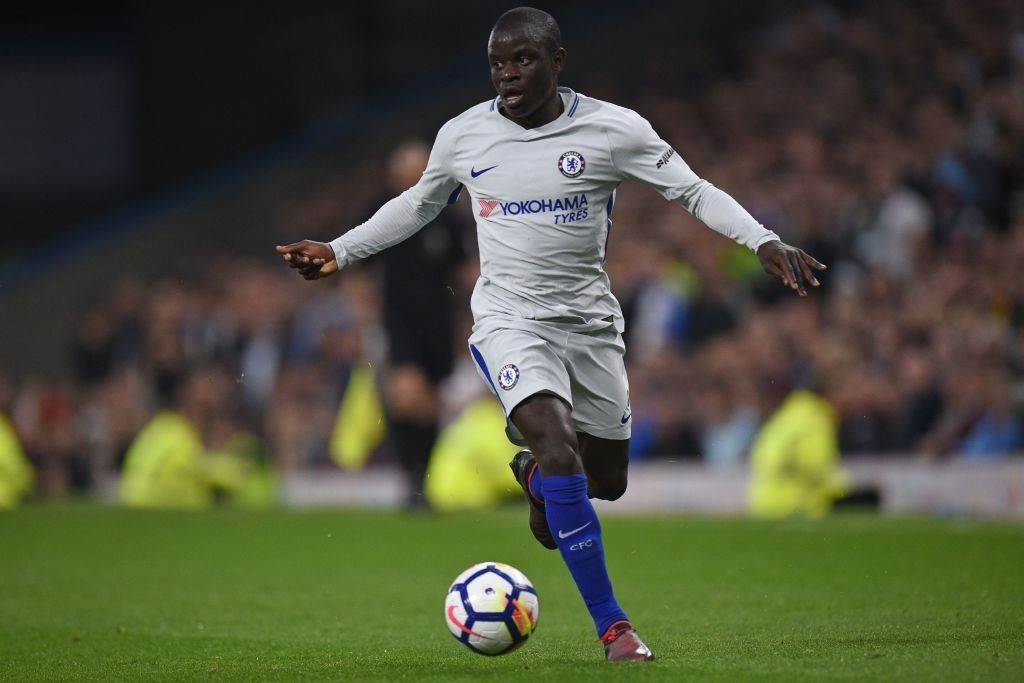 N'Golo Kante is on the verge of becoming the second-highest paid Chelsea player (Photo by Oli SCARFF / AFP) / RESTRICTED TO EDITORIAL USE. No use with unauthorized audio, video, data, fixture lists, club/league logos or 'live' services. Online in-match use limited to 75 images, no video emulation. No use in betting, games or single club/league/player publications. / (Photo credit should read OLI SCARFF/AFP/Getty Images)