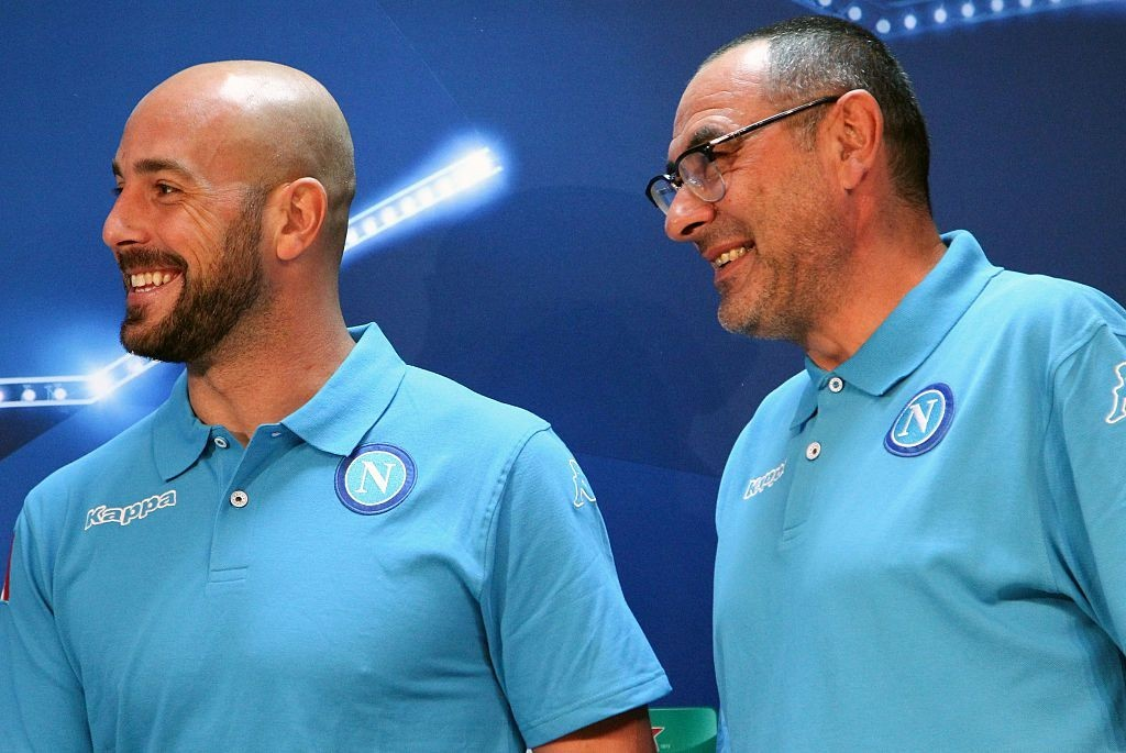 Set to be reunited with Maurizio Sarri at Chelsea? (Photo courtesy - Carlo Hermann/AFP/Getty Images)