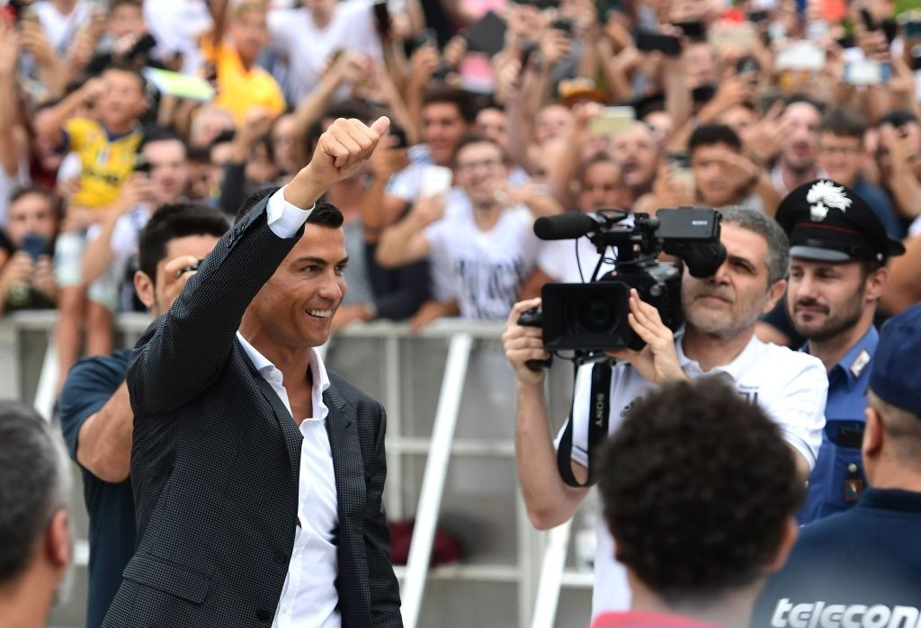 A decision made easy by Juventus fans. (Photo courtesy - Miguel Medina/AFP/Getty Images)