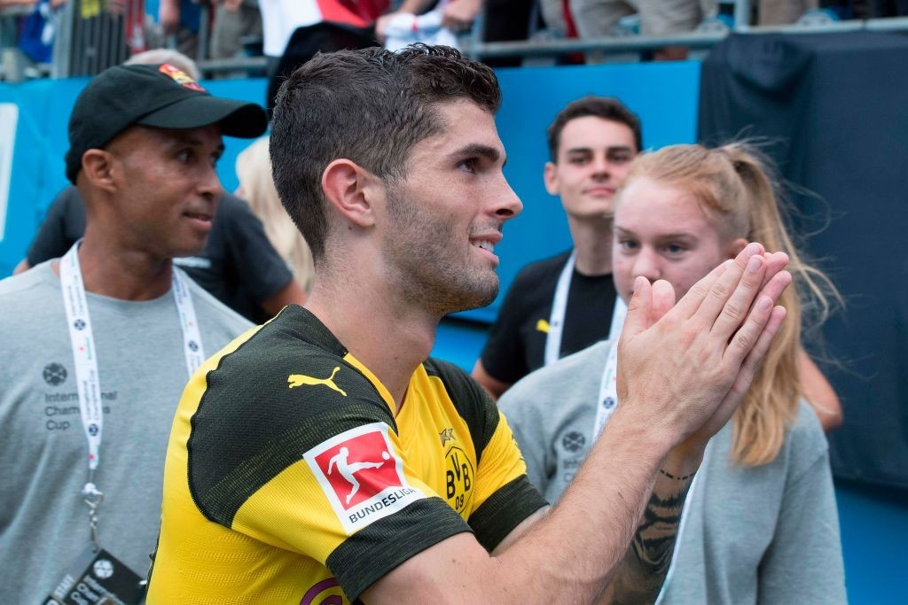 Pulisic led BVB to a victory over Liverpool this weekend (Photo by JIM WATSON/AFP/Getty Images)