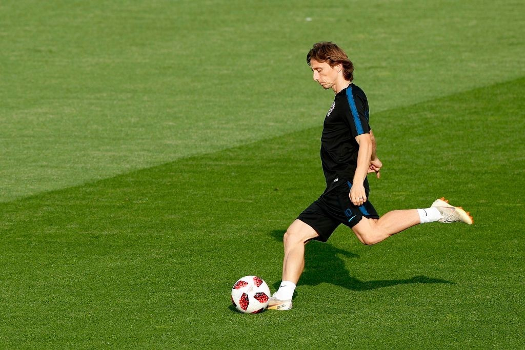 Can Modric lead Croatia to their first-ever World Cup title? (Photo courtesy - Adrian Dennis/AFP/Getty Images)