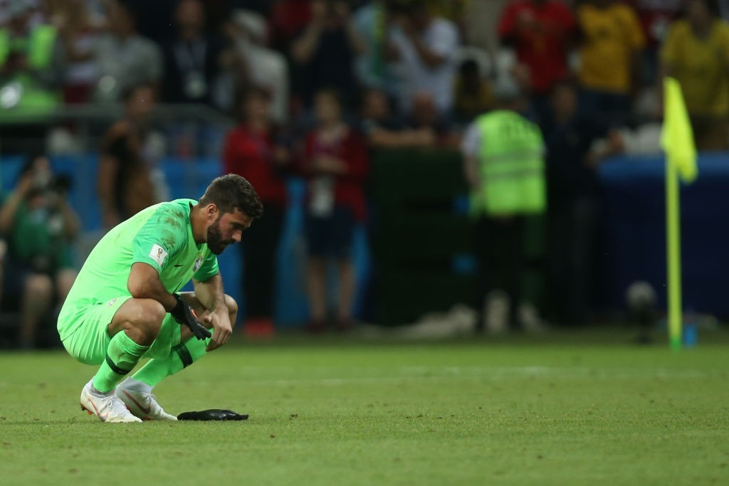 Putting the disappointment of Russia behind him, Alisson is set to begin a new journey with Liverpool. (Photo courtesy - Roman Kruchinin/AFP/Getty Images)