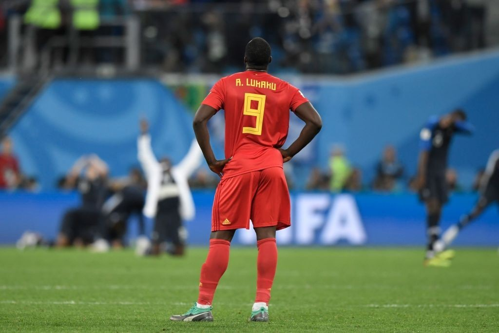 Can Lukaku bounce back from the disappointing outing against France? (Photo by GABRIEL BOUYS/AFP/Getty Images)