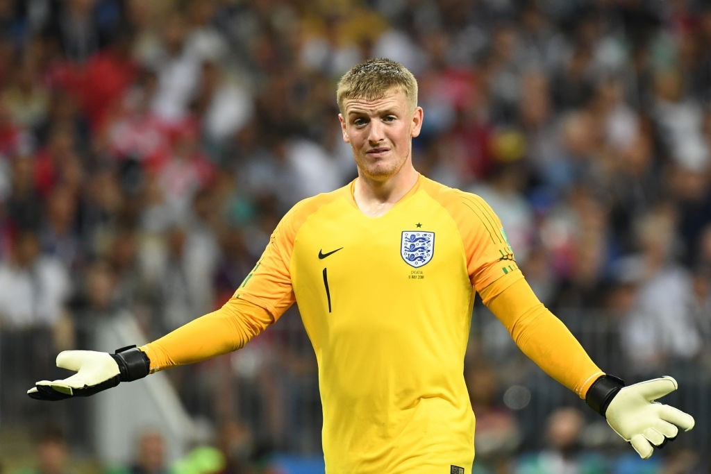 What's it going to be for Jordan Pickford? (Photo courtesy - Yuri Cortez/AFP/Getty Images)