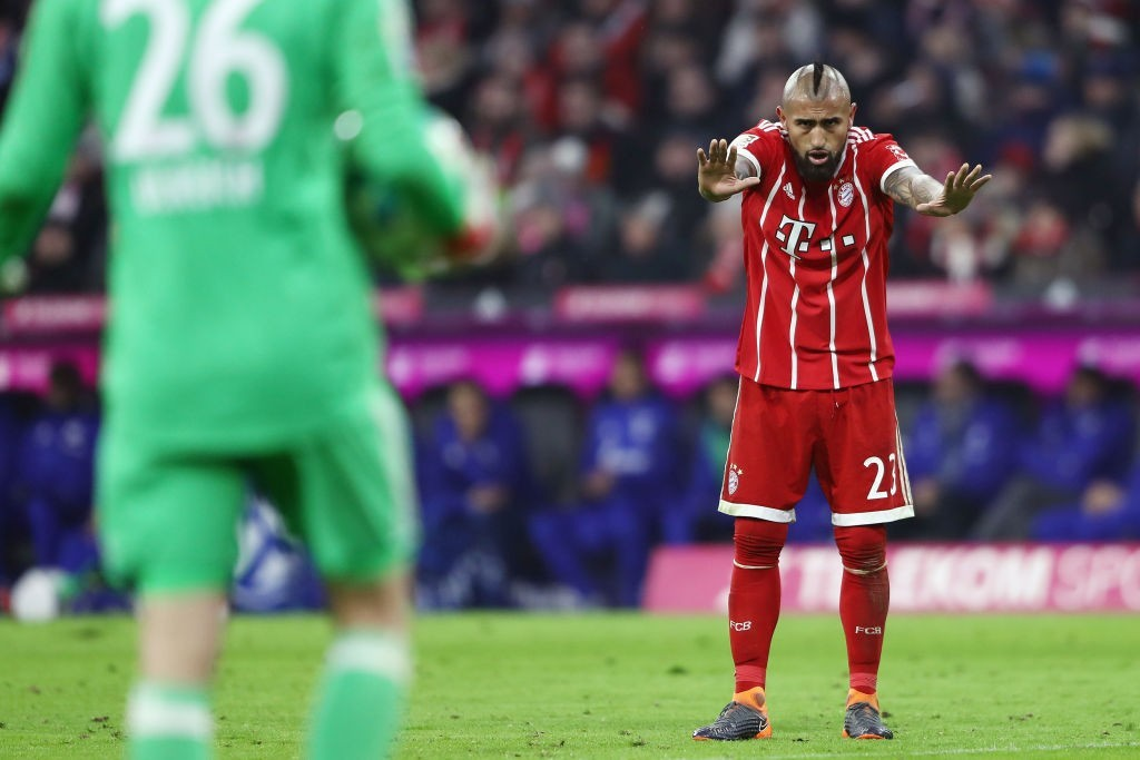 Can Chelsea stop Manchester United from signing Vidal? (Photo courtesy - Alex Grimm/Bongarts/Getty Images)